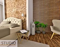 Sypialnia - Sypialnia, styl nowoczesny - zdjęcie od EBBE Design Projektowanie Wnętrz - Homebook