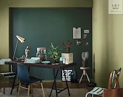 Kolekcja Tikkurila Color Now - Małe czarne zielone biuro pracownia - zdjęcie od Tikkurila