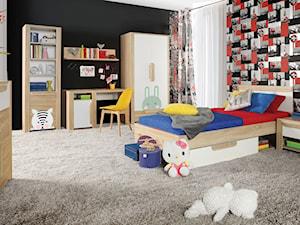 Kolekcja Lace - Duży czarny kolorowy pokój dziecka dla chłopca dla dziewczynki dla ucznia dla malucha - zdjęcie od FORTE
