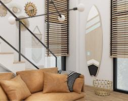 Salon+w+stylu+boho-loft+-+zdj%C4%99cie+od+Kompleksowe+projektowanie+wn%C4%99trz+Katarzyna+Krasowska