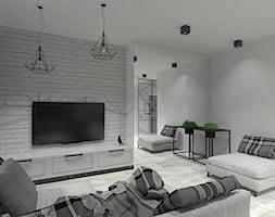 Nowoczesny+salon+z+o%C5%9Bwietleniem+i+donicami+od+Simply+Light+-+zdj%C4%99cie+od+Simply+Light