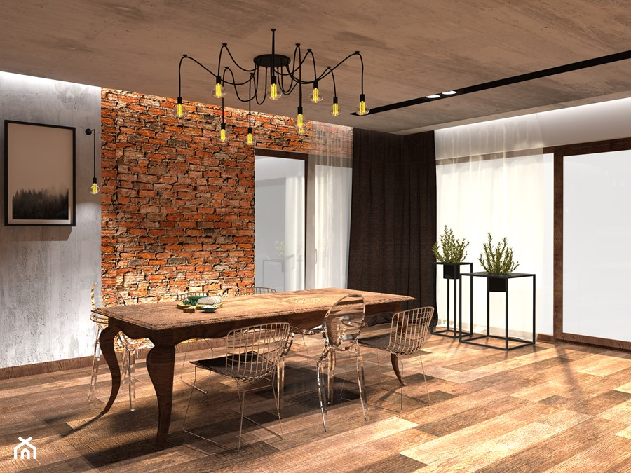 Aranżacje wnętrz - Jadalnia: Nowoczesny salon z oświetleniem i donicami od Simply Light - Simply Light. Przeglądaj, dodawaj i zapisuj najlepsze zdjęcia, pomysły i inspiracje designerskie. W bazie mamy już prawie milion fotografii!