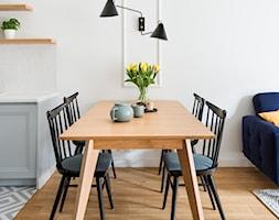 Mieszkanie 43m2 Warszawa - Jadalnia, styl skandynawski - zdjęcie od INTERIOLOGY - Homebook
