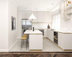 Mieszkanie 120m2 Warszawa - Kuchnia, styl nowoczesny - zdjęcie od INTERIOLOGY - Homebook
