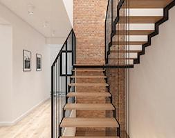 Dom 150m2 pod Warszawą - Schody, styl industrialny - zdjęcie od INTERIOLOGY - Homebook