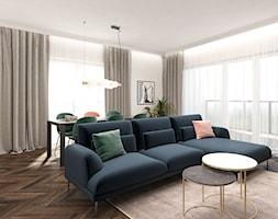 Mieszkanie 120m2 Warszawa - Salon, styl nowoczesny - zdjęcie od INTERIOLOGY - Homebook