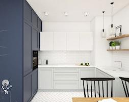 Mieszkanie 43m2 Warszawa - Kuchnia, styl skandynawski - zdjęcie od INTERIOLOGY - Homebook
