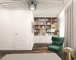 Mieszkanie 120m2 Warszawa - Sypialnia, styl nowoczesny - zdjęcie od INTERIOLOGY - Homebook