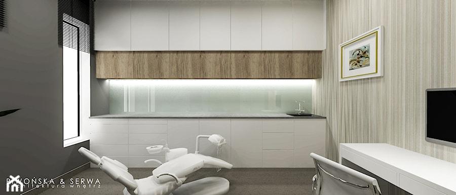 Gabinet stomatologiczny - Wnętrza publiczne, styl nowoczesny - zdjęcie od Piwońska&Serwa