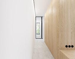 Sułkowice - Duża garderoba, styl minimalistyczny - zdjęcie od Motifo Architektura & Wnętrza
