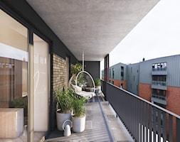 Wawrzyńca - Duży taras z tyłu domu - zdjęcie od Motifo Architektura & Wnętrza