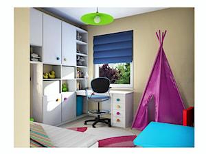 maleńki pokój małeńkiej dziewczynki - Mały brązowy pokój dziecka dla chłopca dla dziewczynki dla ucznia dla malucha - zdjęcie od Katarzyna Wróbel