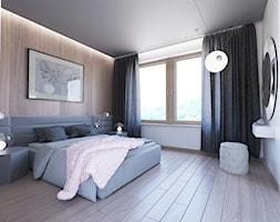 Sypialnia+-+zdj%C4%99cie+od+Biuro+projektowe+Joanna+Karwowska