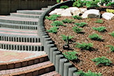 półokrągłe schody z kostki brukowej jak zrobić
