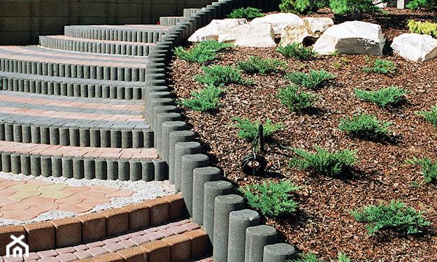 polisada rozdzielenie stref ogrodowych