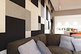 kolorowe płyty betonowe na ścianie