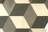 wzór z płytek betonowych
