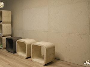 Kubik z betonu architektonicznego