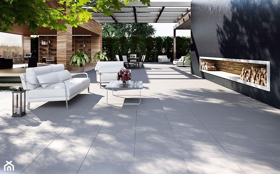 Jadar Garden - Duży taras, styl nowoczesny - zdjęcie od Jadar