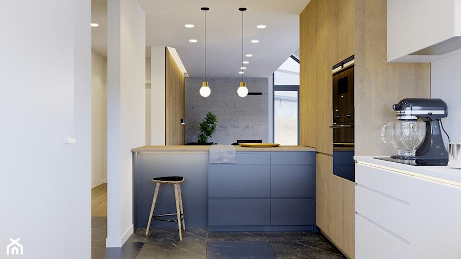 Przytulne wnętrze - Kuchnia, styl nowoczesny - zdjęcie od NUKO STUDIO