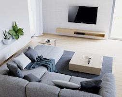 Eleganckie wnętrze - Salon, styl nowoczesny - zdjęcie od NUKO STUDIO - Homebook