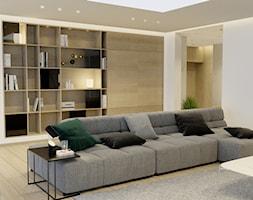 Projekt wnętrza domu w Krakowie - Salon, styl nowoczesny - zdjęcie od NUKO STUDIO - Homebook