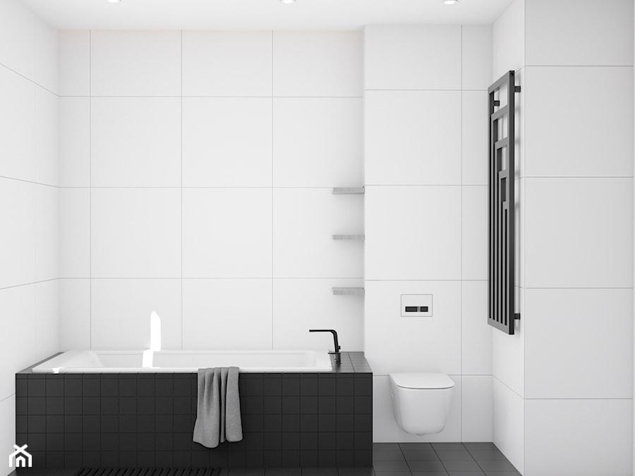 Eleganckie wnętrze - Łazienka, styl nowoczesny - zdjęcie od NUKO STUDIO