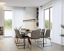Projekt wnętrza domu w Krakowie - Jadalnia, styl nowoczesny - zdjęcie od NUKO STUDIO - Homebook