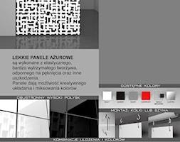 ZICARO.PL - Lekkie panele ażurowe - zdjęcie od ZICARO - Producent paneli ściennych 3d oraz paneli ażurowych - Homebook