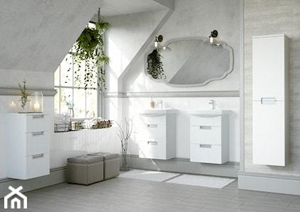 Trendy łazienkowe: białe i czarne baterie