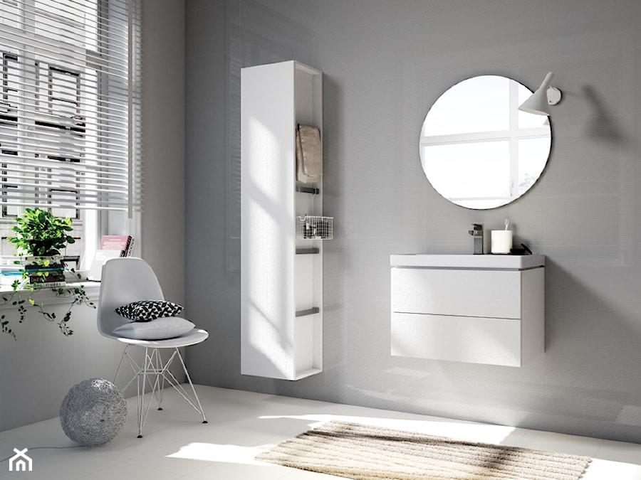 Aranżacje wnętrz - Łazienka: Inspiracje łazienki - Łazienka, styl skandynawski - Cersanit. Przeglądaj, dodawaj i zapisuj najlepsze zdjęcia, pomysły i inspiracje designerskie. W bazie mamy już prawie milion fotografii!
