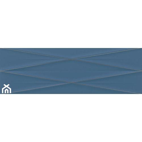 GRAVITY MARINE BLUE SILVER INSERTO SATIN 24x74