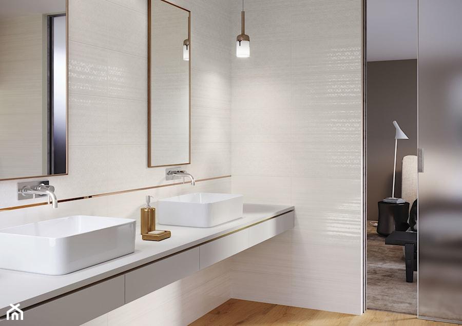 Ferano Beżowa łazienka Styl Skandynawski Zdjęcie Od