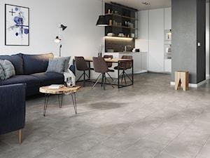 Jak za pomocą podłogi połączyć kilka stref mieszkania?