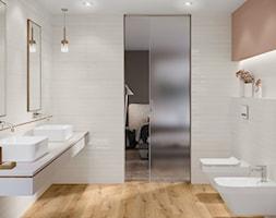 Ferano - Mała szara łazienka w bloku w domu jednorodzinnym bez okna, styl skandynawski - zdjęcie od Cersanit