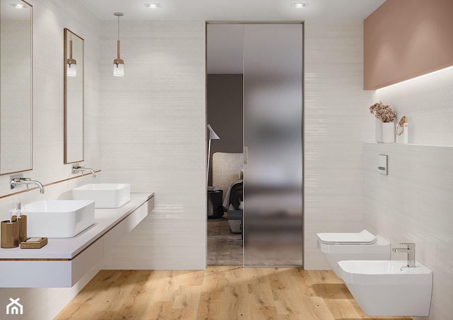Aranżacje wnętrz - Łazienka: Ferano - Mała szara łazienka w bloku w domu jednorodzinnym bez okna, styl skandynawski - Cersanit. Przeglądaj, dodawaj i zapisuj najlepsze zdjęcia, pomysły i inspiracje designerskie. W bazie mamy już prawie milion fotografii!
