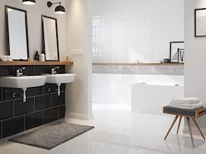 Inspiracje łazienki - Średnia biała łazienka, styl nowoczesny - zdjęcie od Cersanit