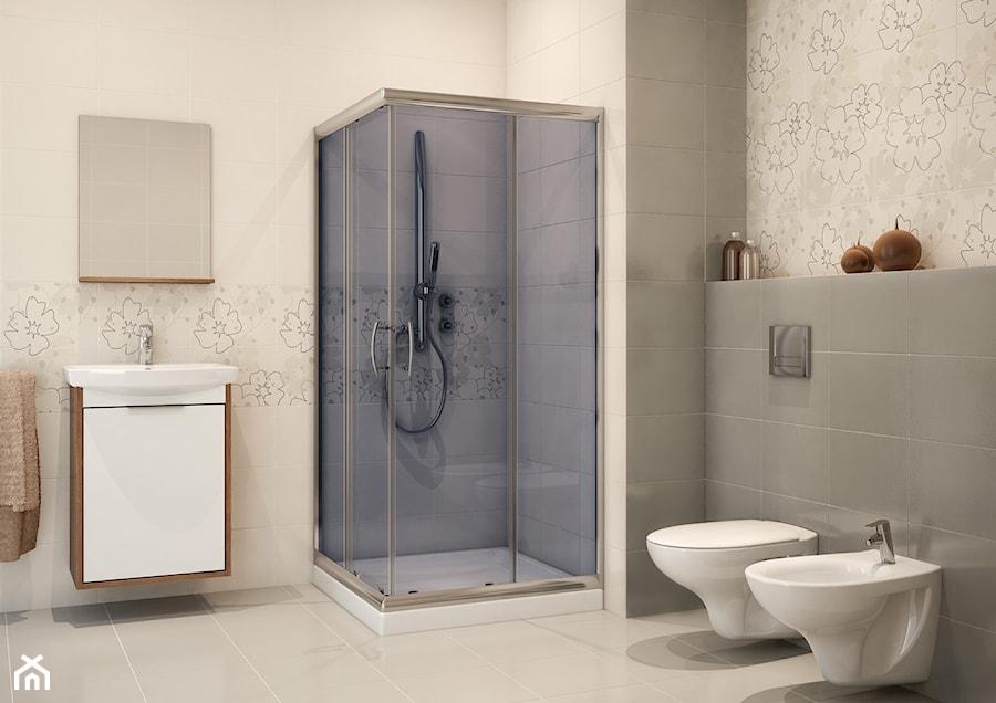Aranżacje wnętrz - Łazienka: Kabiny prysznicowe - Łazienka, styl tradycyjny - Cersanit. Przeglądaj, dodawaj i zapisuj najlepsze zdjęcia, pomysły i inspiracje designerskie. W bazie mamy już prawie milion fotografii!
