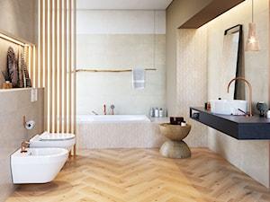 Naturalne, afrykańskie inspiracje w 7 popularnych stylach w łazience