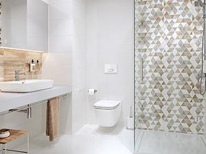 Arezzo - Średnia łazienka w bloku w domu jednorodzinnym bez okna, styl skandynawski - zdjęcie od Cersanit
