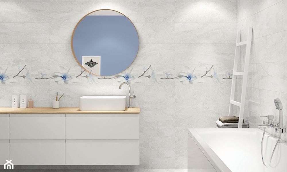 pastelowe dodatki w łazience