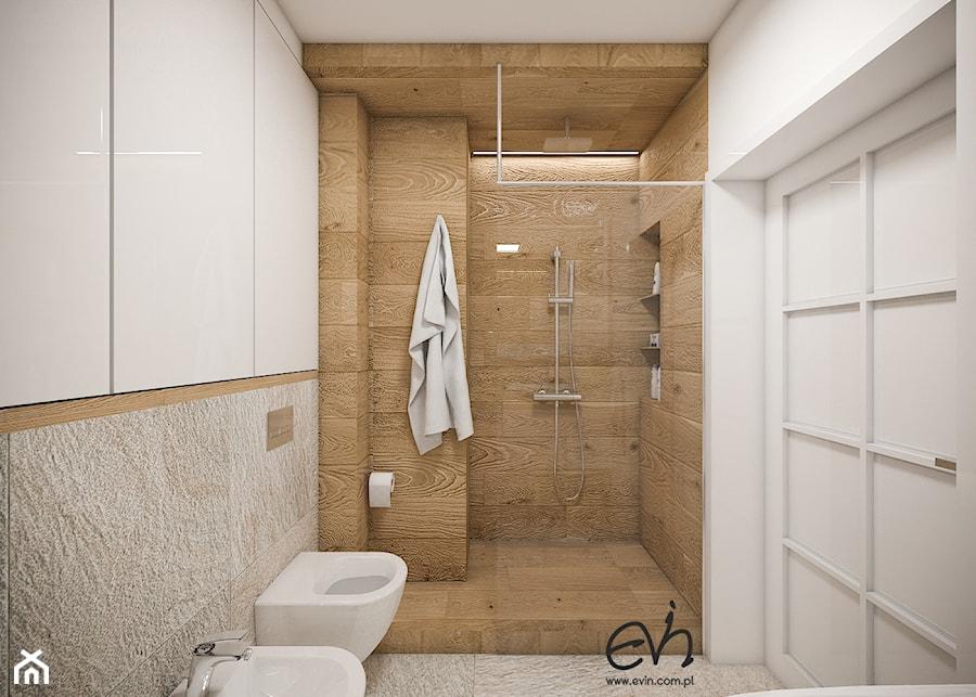 łazienka Jak W Spa średnia Beżowa łazienka Bez Okna Styl