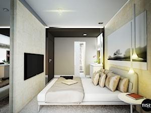 Z widokiem na miasto, apartament Bemowo – Tissu.