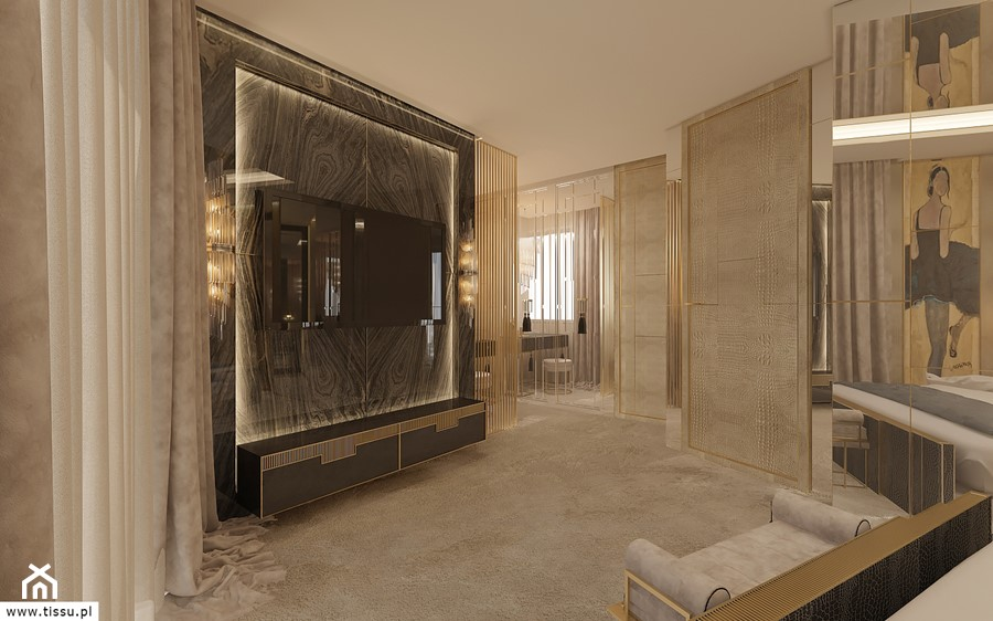 Aranżacje wnętrz - Sypialnia: http://tissu.pl/portfolio/luksusowo-apartamencie-116-m2-warszawa/ - TissuArchitecture. Przeglądaj, dodawaj i zapisuj najlepsze zdjęcia, pomysły i inspiracje designerskie. W bazie mamy już prawie milion fotografii!