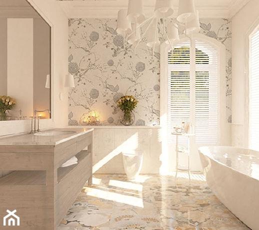 Angielski Romantyzm W Rezydencji W Milanówku łazienka