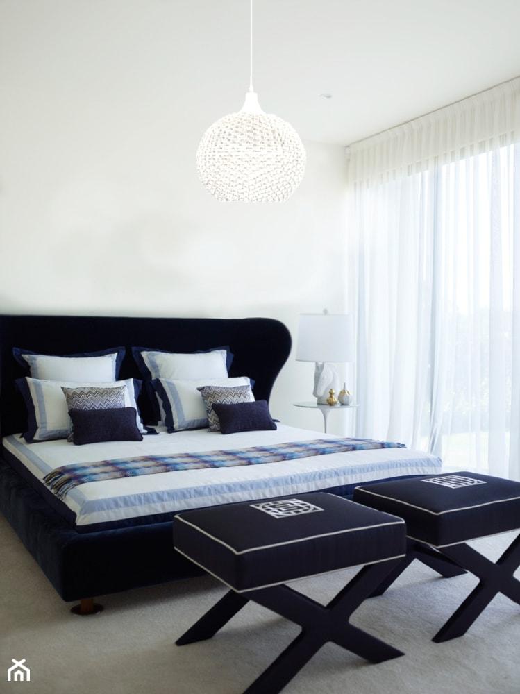 Lampa wisząca Nowodvorski Colin White w sypialni - zdjęcie od Sklep Internetowy A-T - Homebook