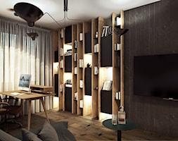 Warszawa - Anin - Średnie biuro kącik do pracy w pokoju, styl nowoczesny - zdjęcie od razoo-architekci