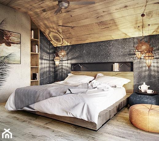 Drewno na ścianie, czyli pomysł na naturalną dekorację wnętrza