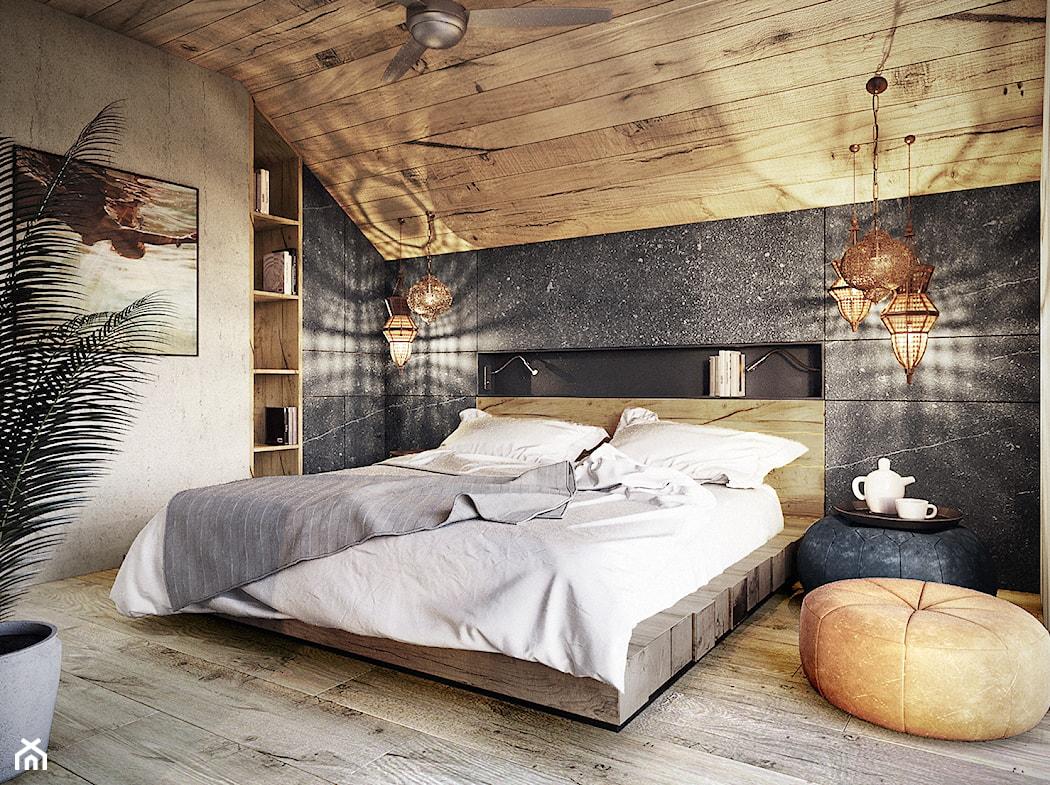 36bad71f92123e Drewno na ścianie, czyli pomysł na naturalną dekorację wnętrza ...