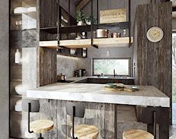 Głogów - Kuchnia, styl industrialny - zdjęcie od razoo-architekci - Homebook